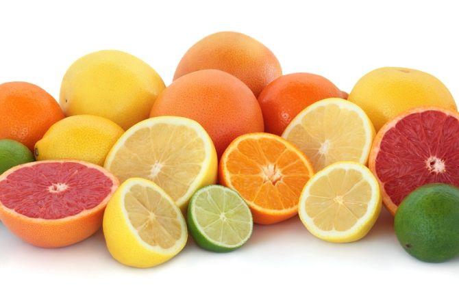 Цитрусовые витамин С