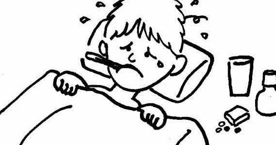 Головная боль температура при простуде
