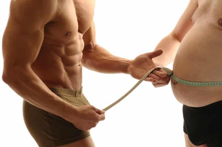Лишний веса у современных мужчин - не редкость