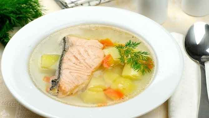 Суп рыбный из судака