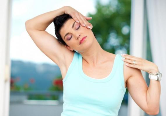 Физические упражнения при болях в шее и головных болях